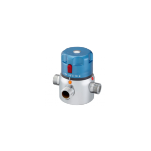 Thermostatic mixing valves for group facilities