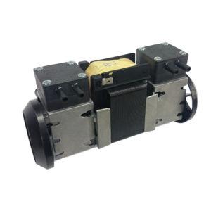 Pompe à vide à Membrane Air/Gaz à deux étages pour échantillonage et pressurisation