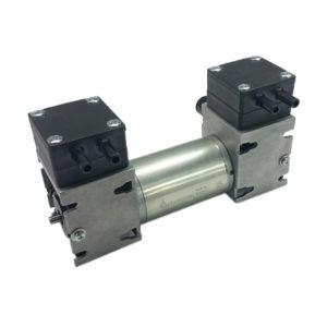 Pompe à vide à Membrane Air/Gaz à deux étages pour échantillonnage et transfert
