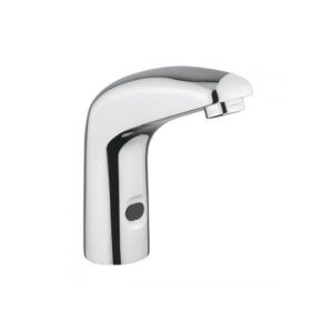 Electronic bassin tap operated by infrared sensor