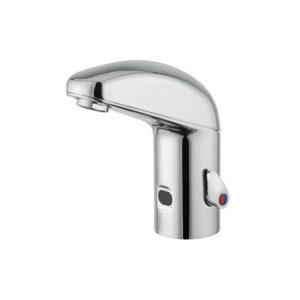 Infrared detection basin mixer